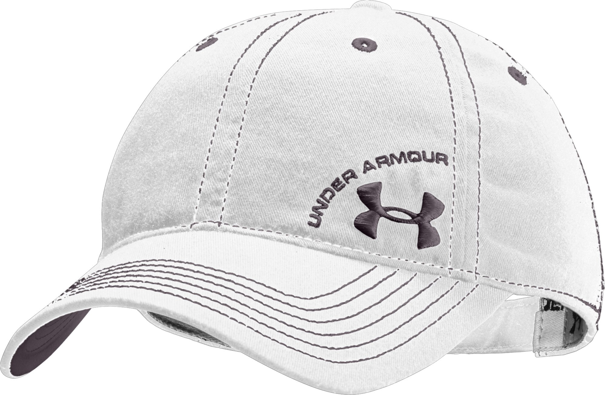 Women's Classic Adjustable Cap, White, zoomed image