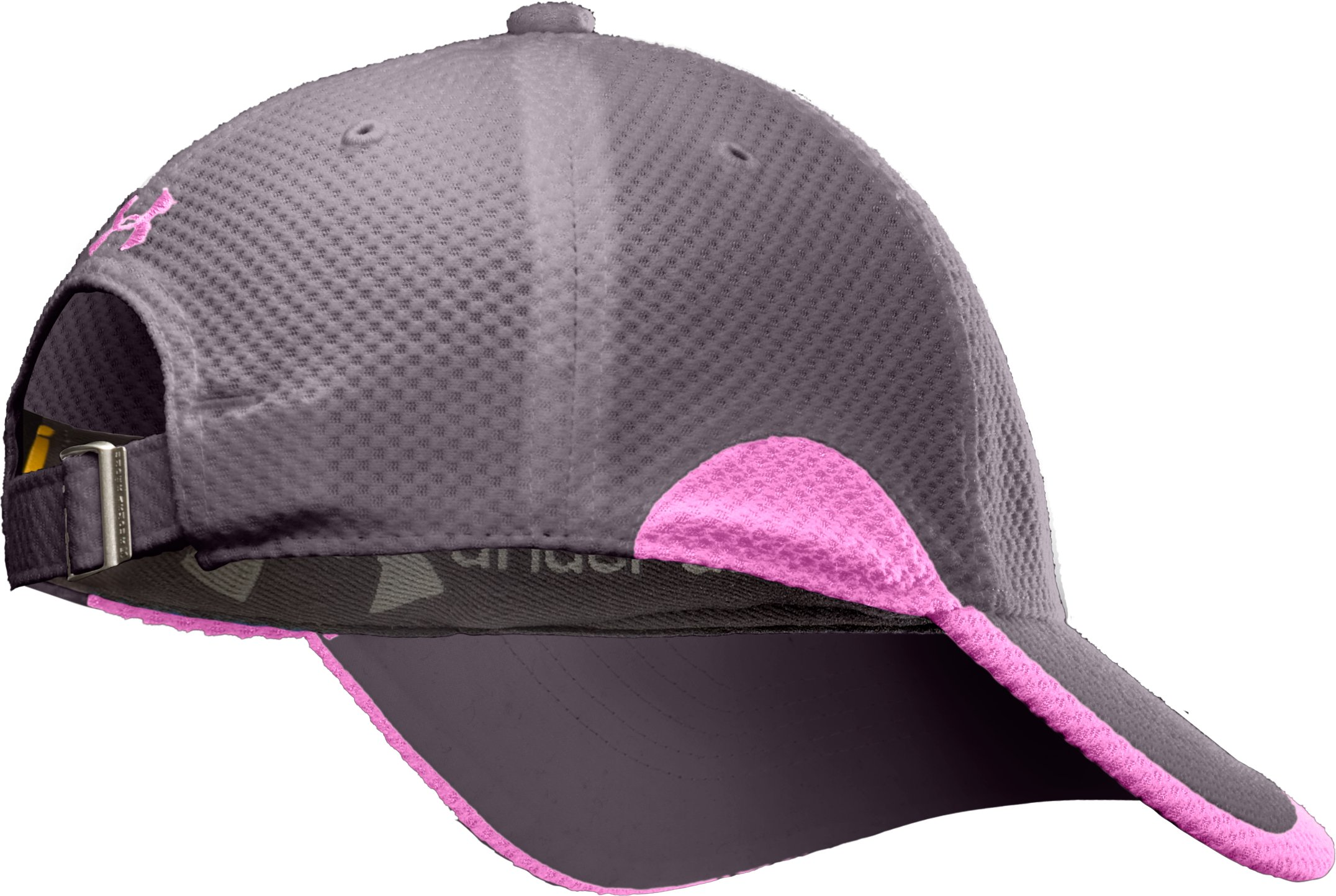 Women's UA Asteria Adjustable Cap, Charcoal