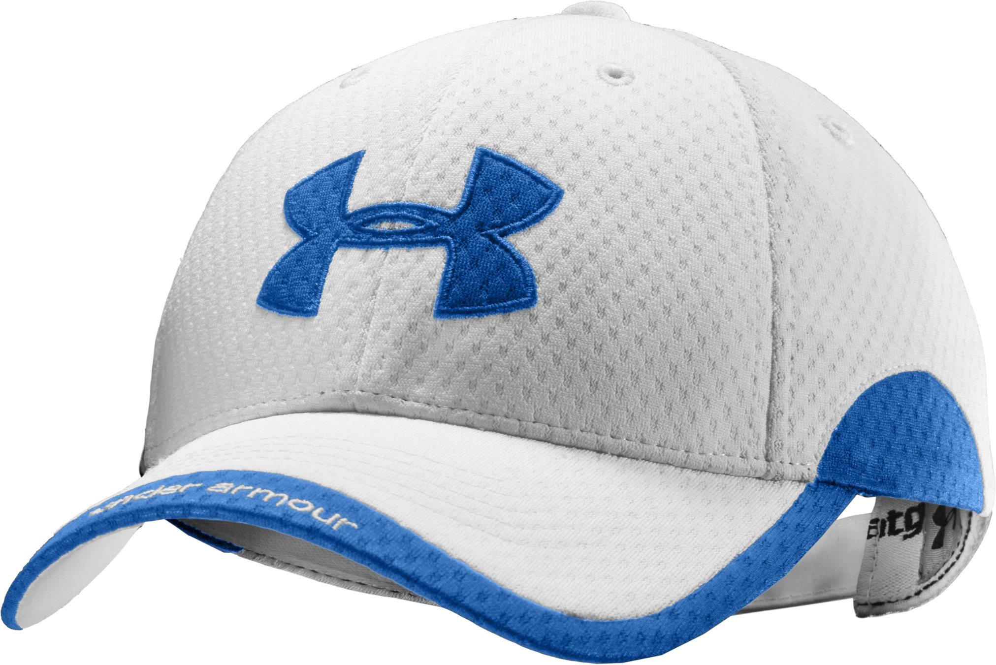 Women's UA Asteria Adjustable Cap, White, undefined