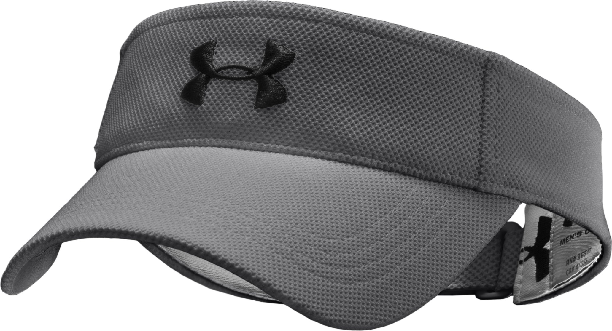Boys' Audible Adjustable Visor, Graphite