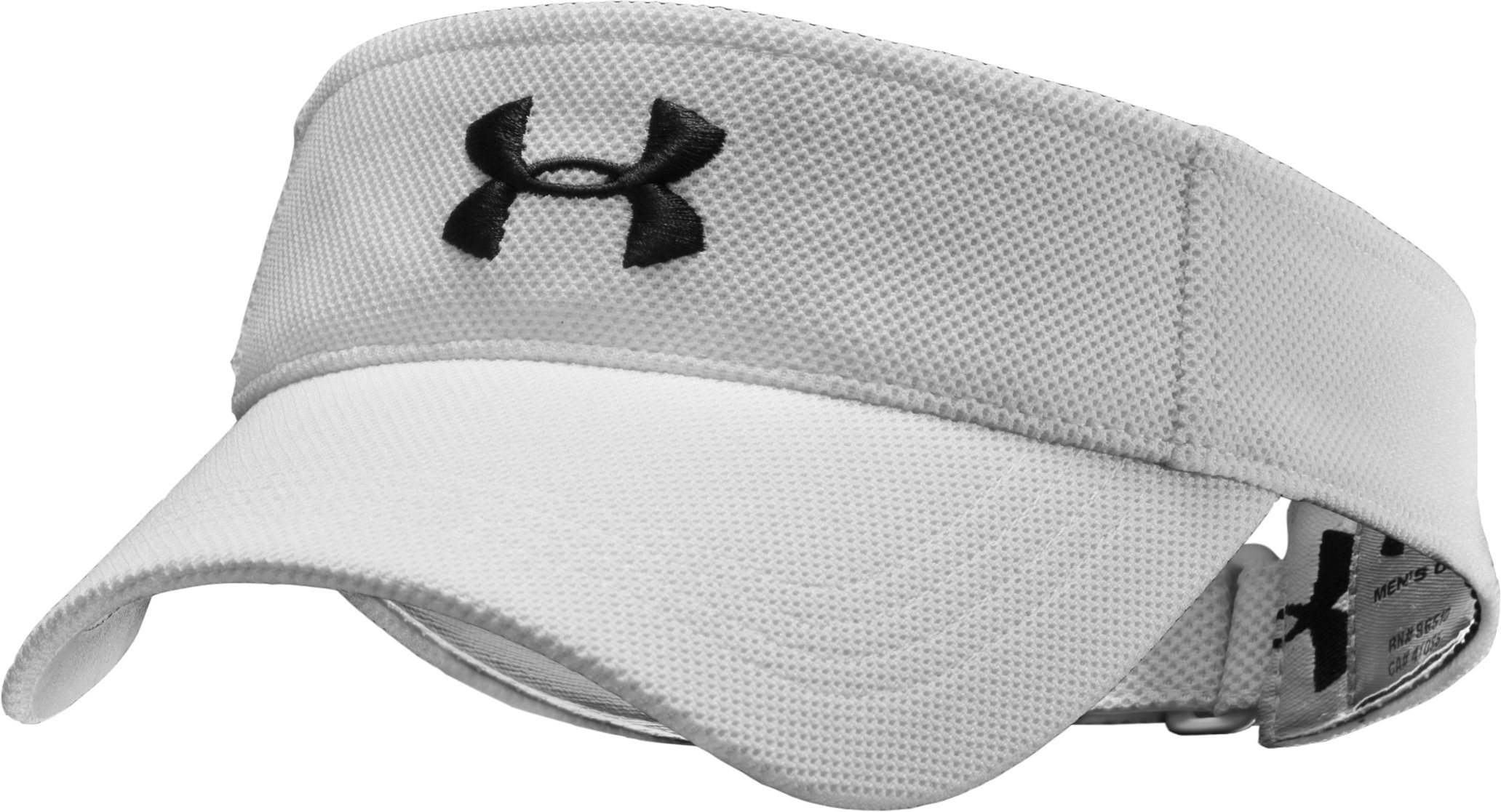 Boys' Audible Adjustable Visor, White, zoomed image