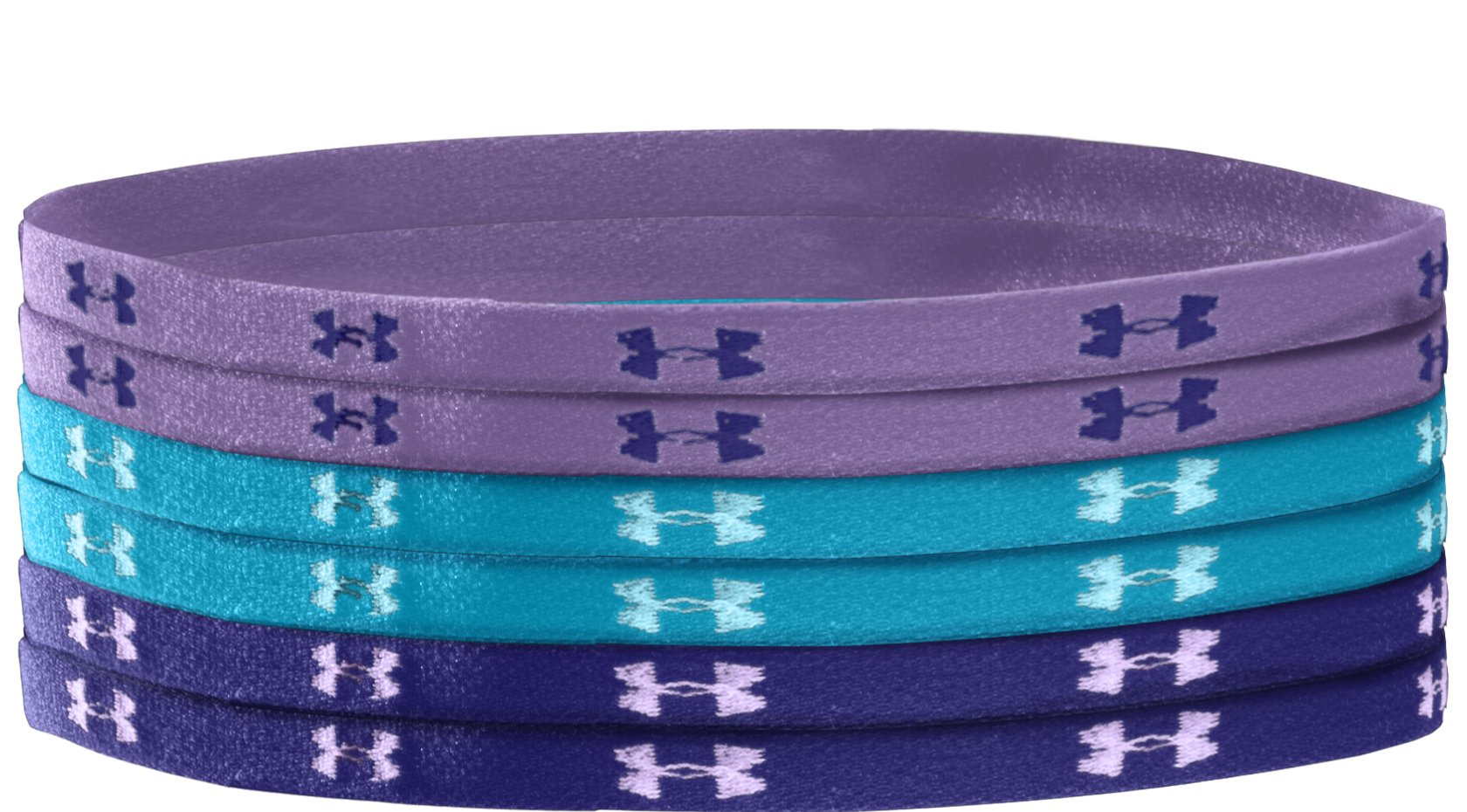 Women's UA Mini Headbands, Petunia, undefined