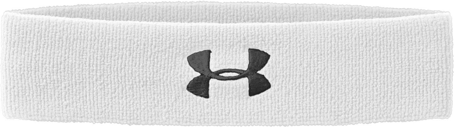 UA Performance Headband, White