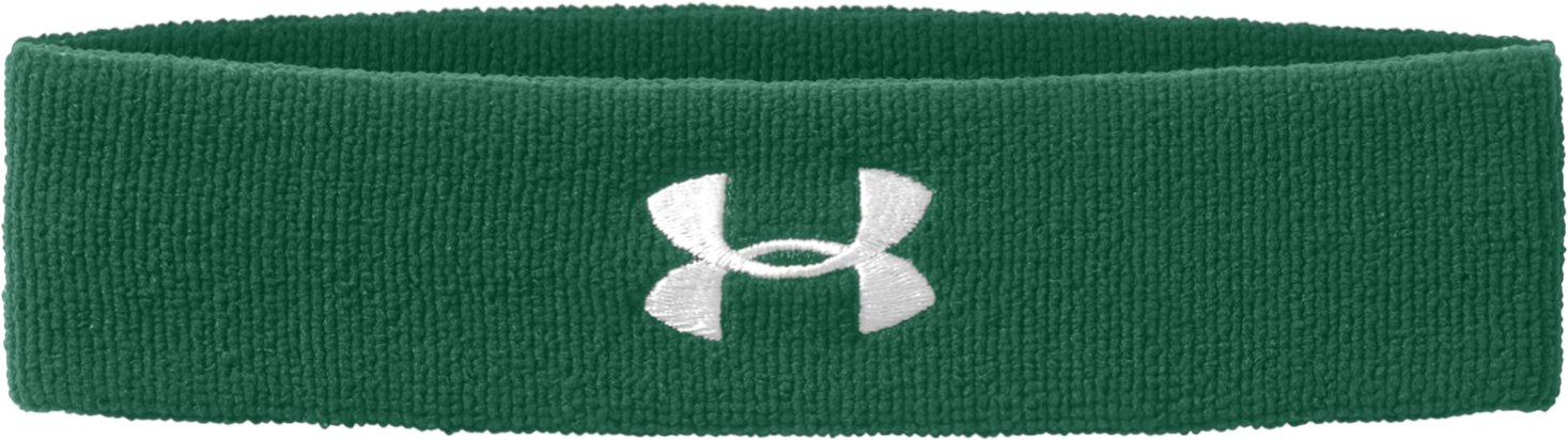 UA Performance Headband, Forest Green, undefined