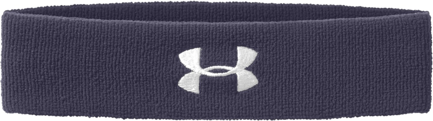 UA Performance Headband, Midnight Navy, zoomed image