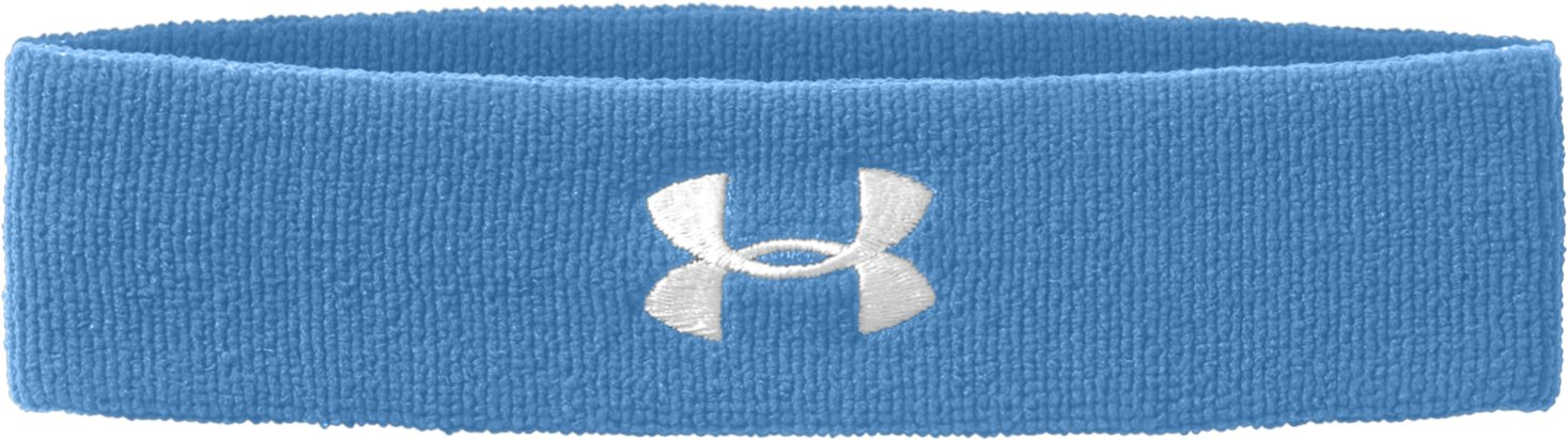 UA Performance Headband, Carolina Blue, zoomed image