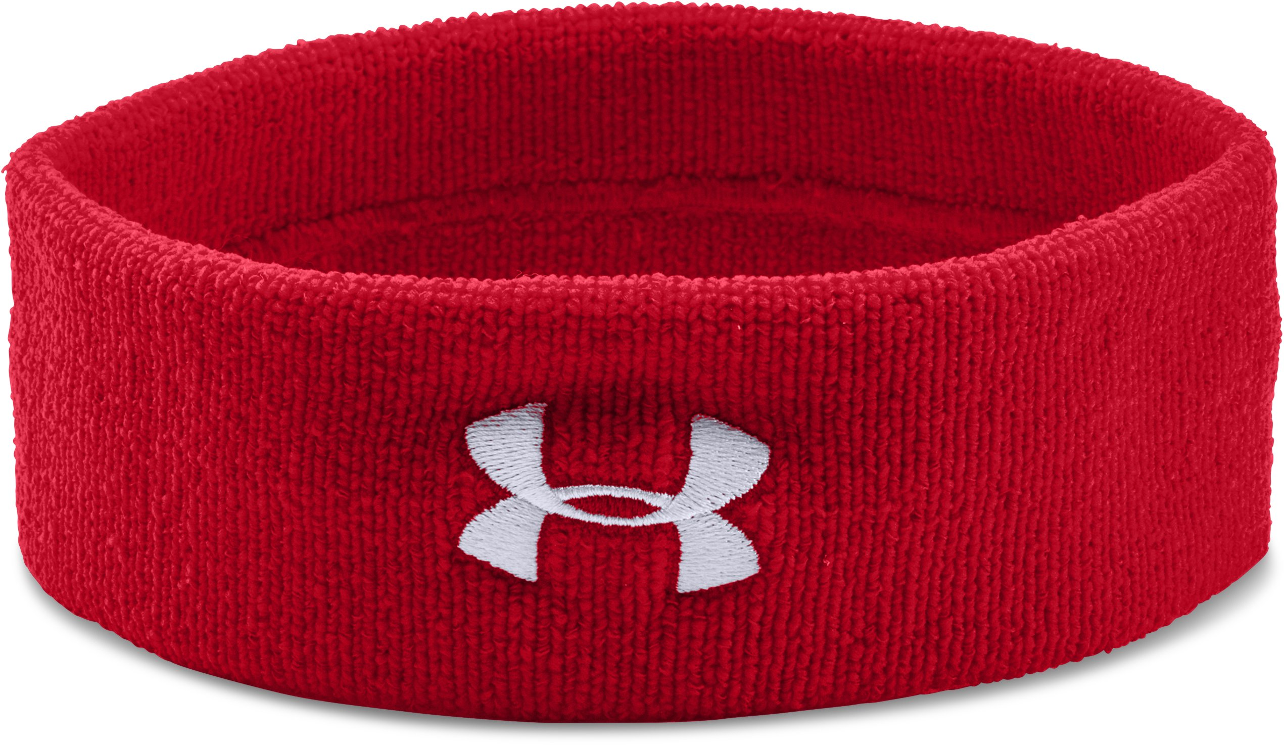 UA Performance Headband, Red, undefined