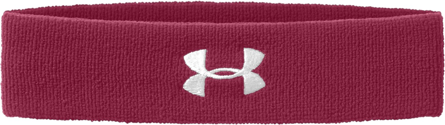 UA Performance Headband, Maroon, zoomed image