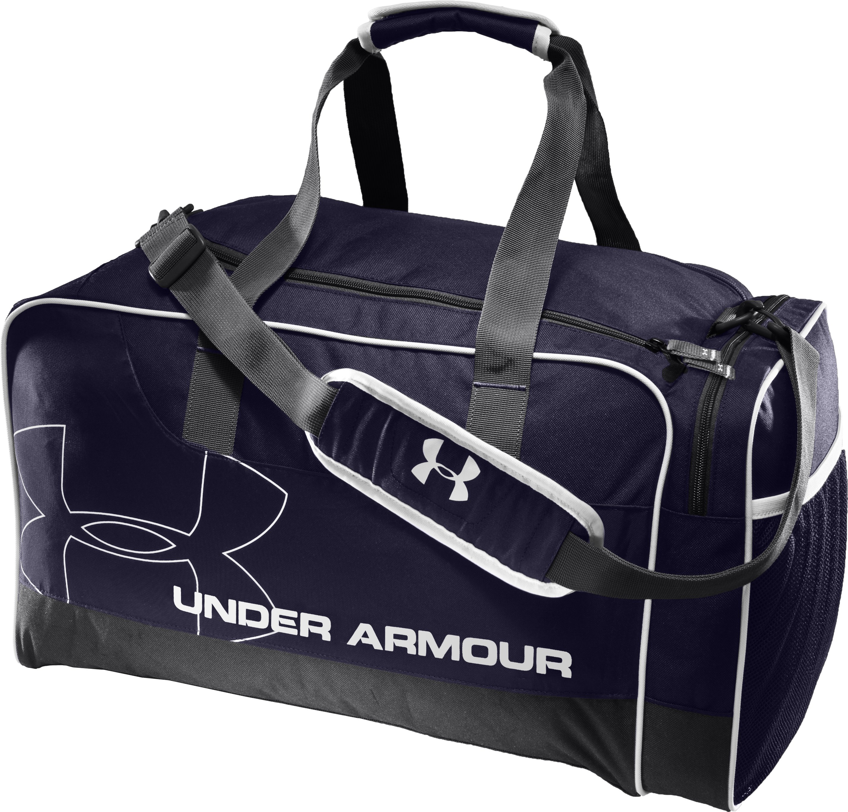 UA Dauntless Duffel Bag, Midnight Navy, zoomed image