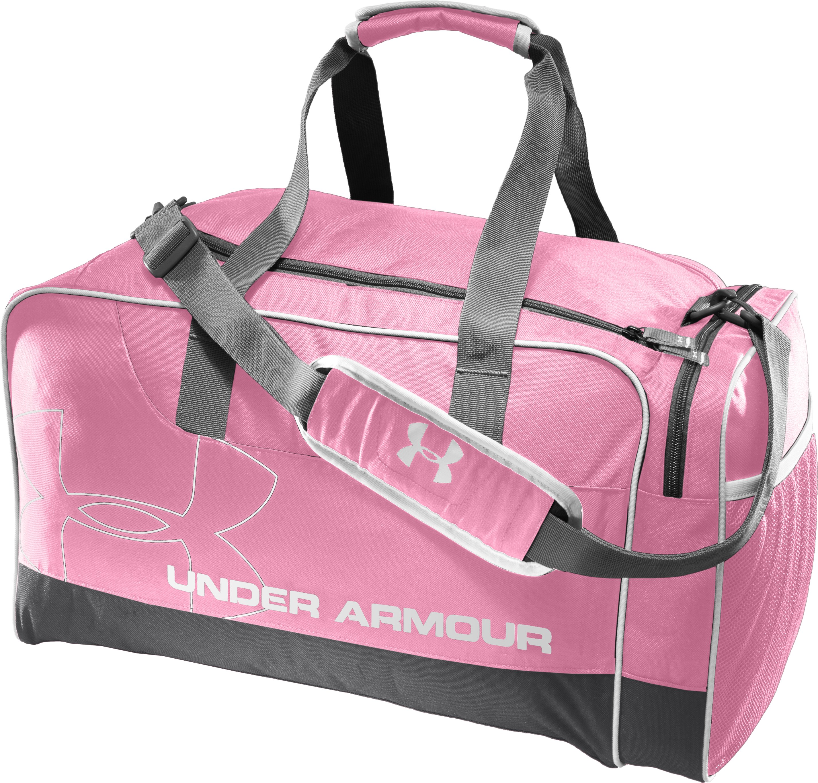 UA Dauntless Duffel Bag, True Pink