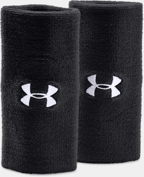 "Best Seller 6"" UA Performance Wristband 2-Pack  1  Color $8.99"