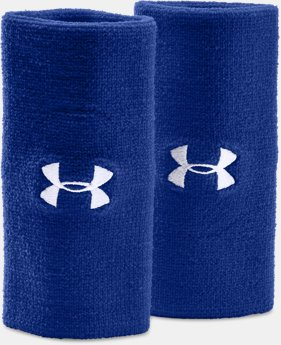 "Best Seller 6"" UA Performance Wristband 2-Pack  3 Colors $8.99"