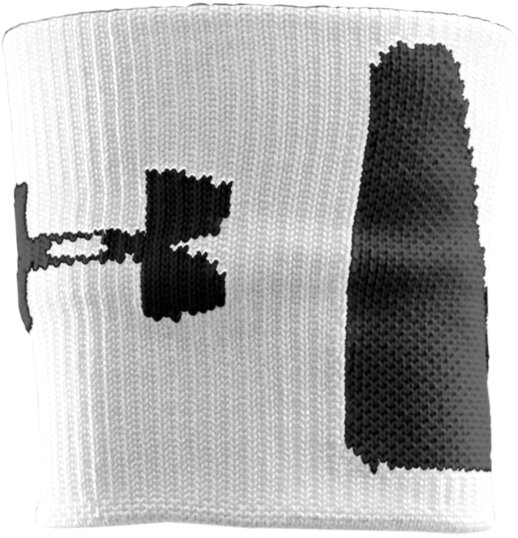 "3"" Speed Wristband, White, zoomed image"