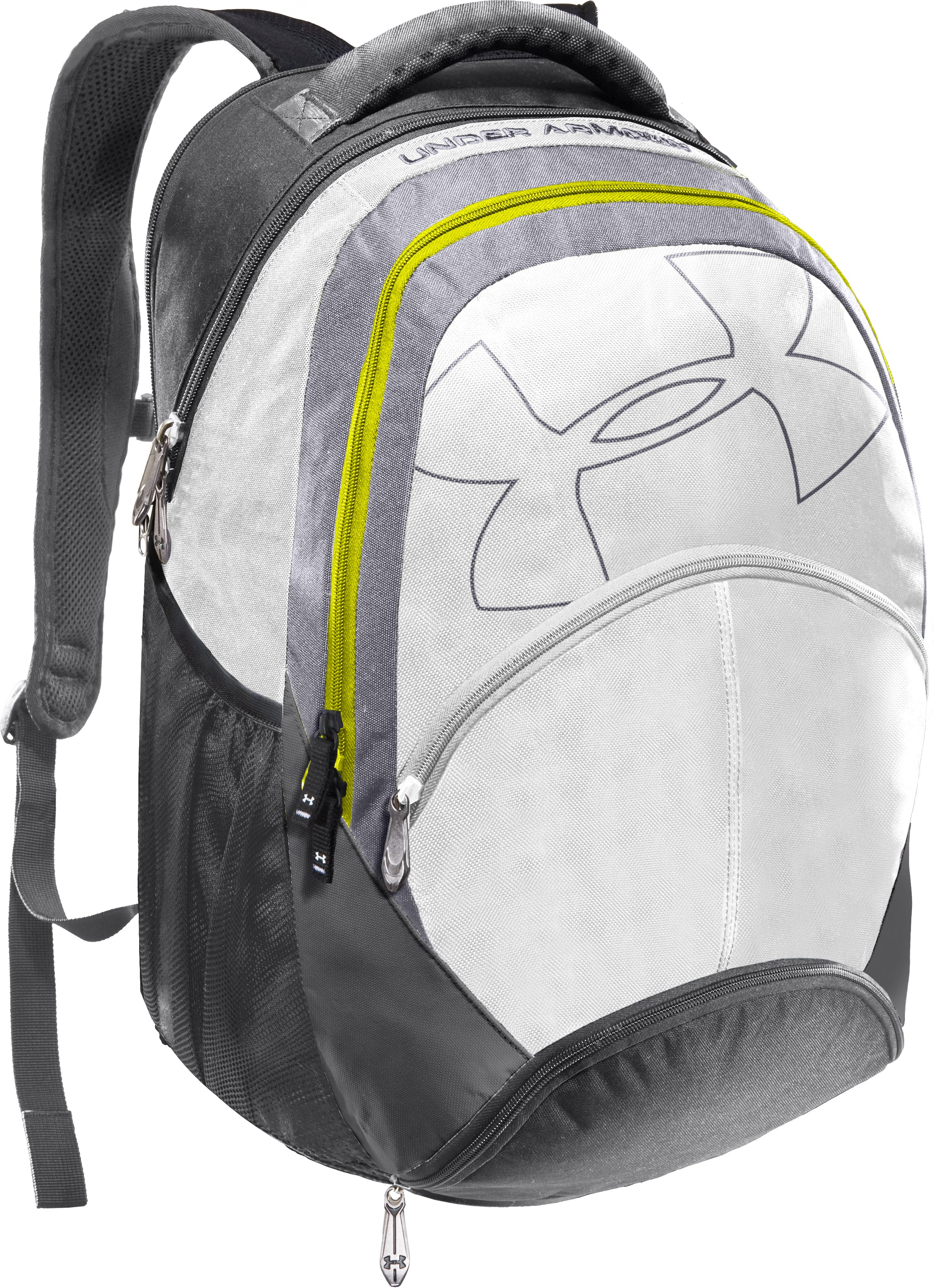 UA Protego Backpack, White, zoomed image