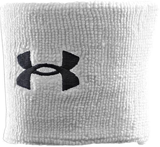 "3"" UA Performance Wristband, White, undefined"
