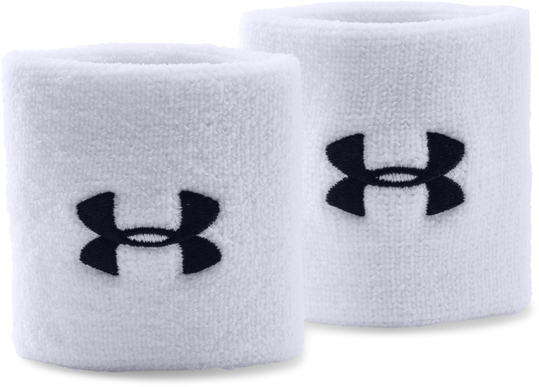 "3"" UA Performance Wristband, White"