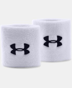 "3"" UA Performance Wristband  1 Color $4.49 to $5.99"