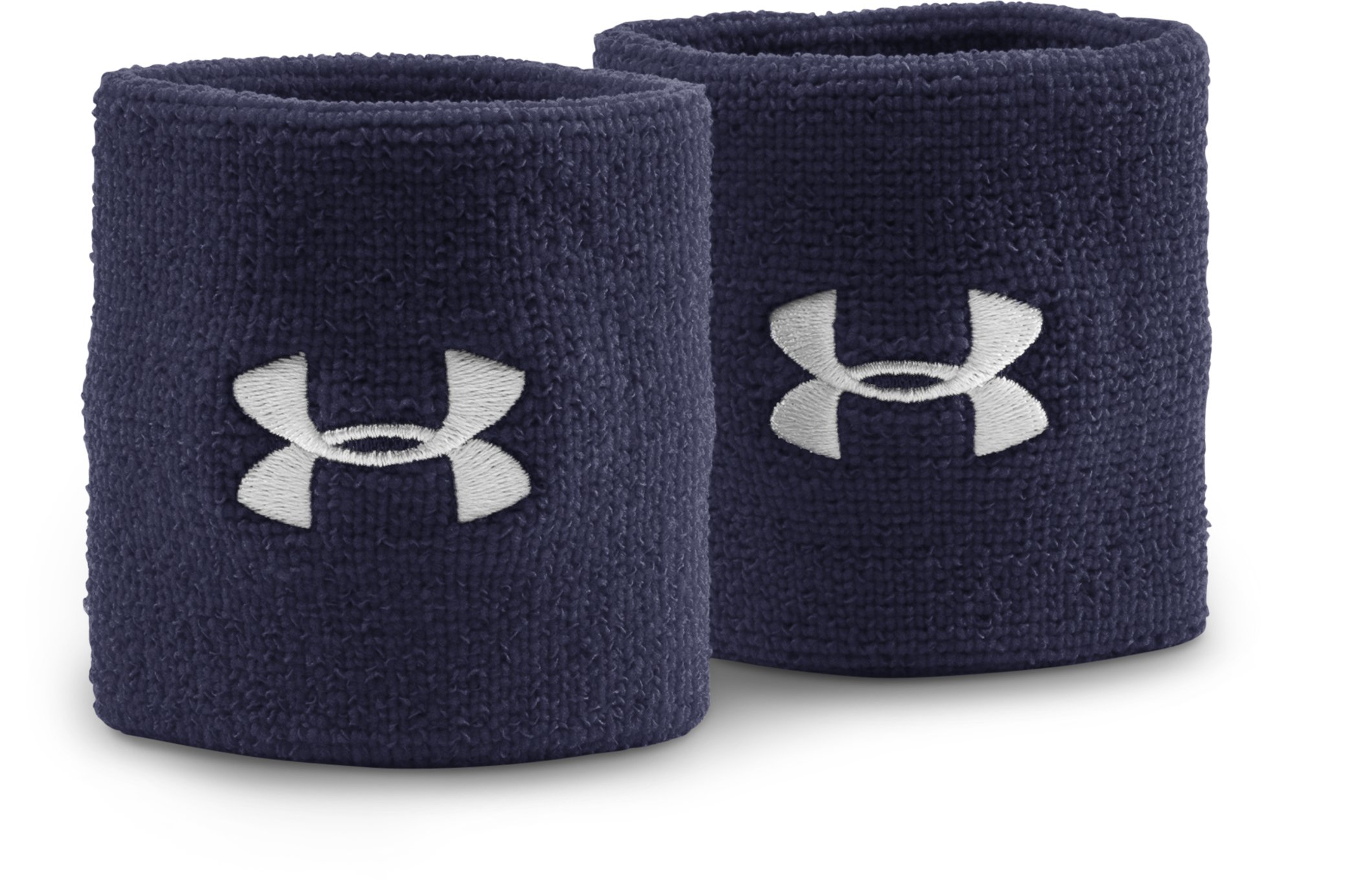 "3"" UA Performance Wristband, Midnight Navy, zoomed image"