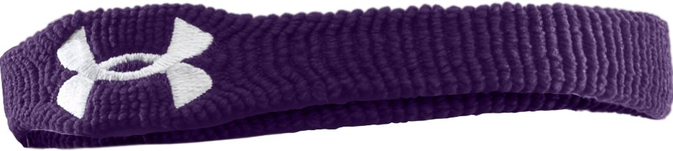 "1"" UA Performance Wristband, Purple"