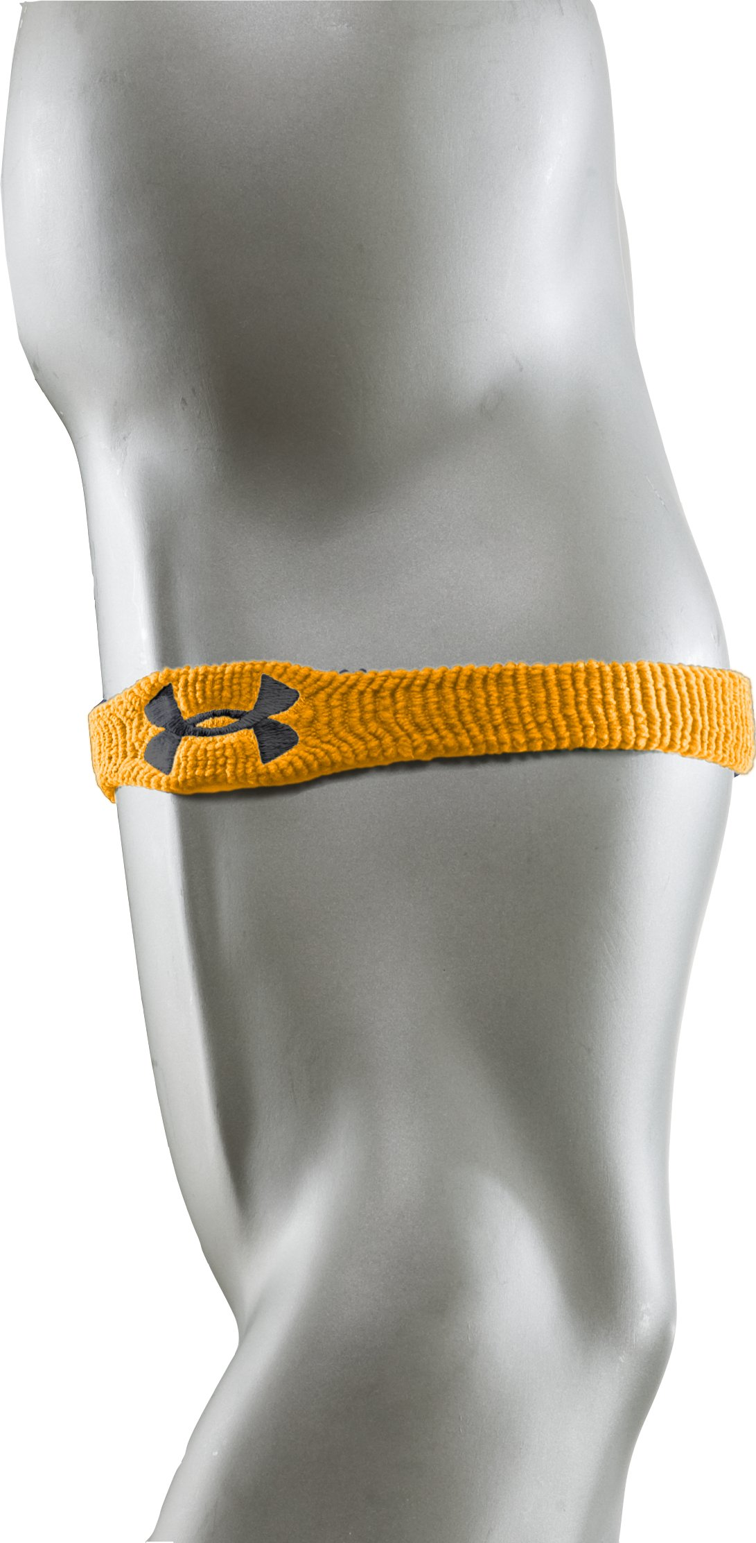 "1"" UA Performance Wristband, Steeltown Gold, undefined"