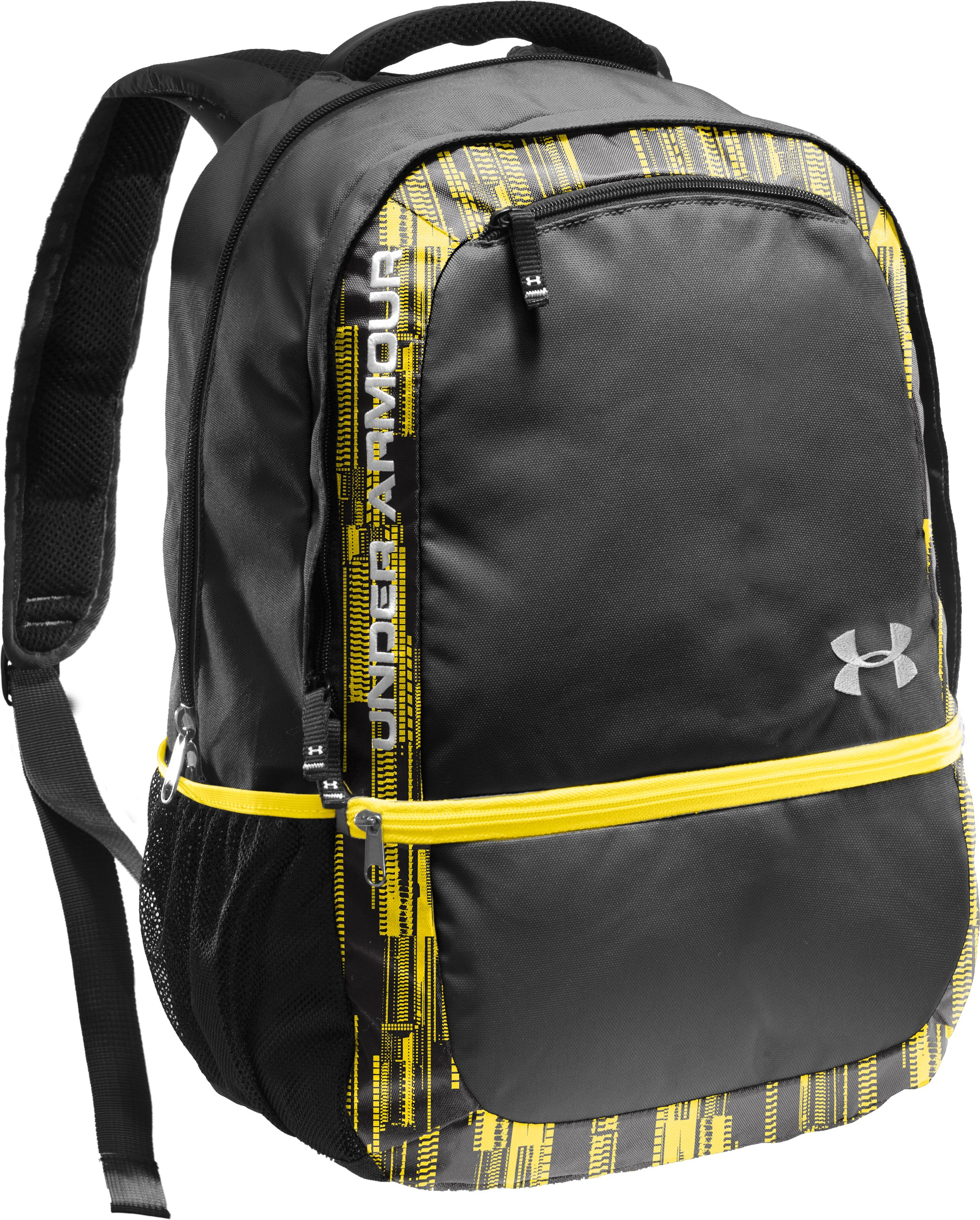 UA Rage Backpack, Taxi, zoomed image