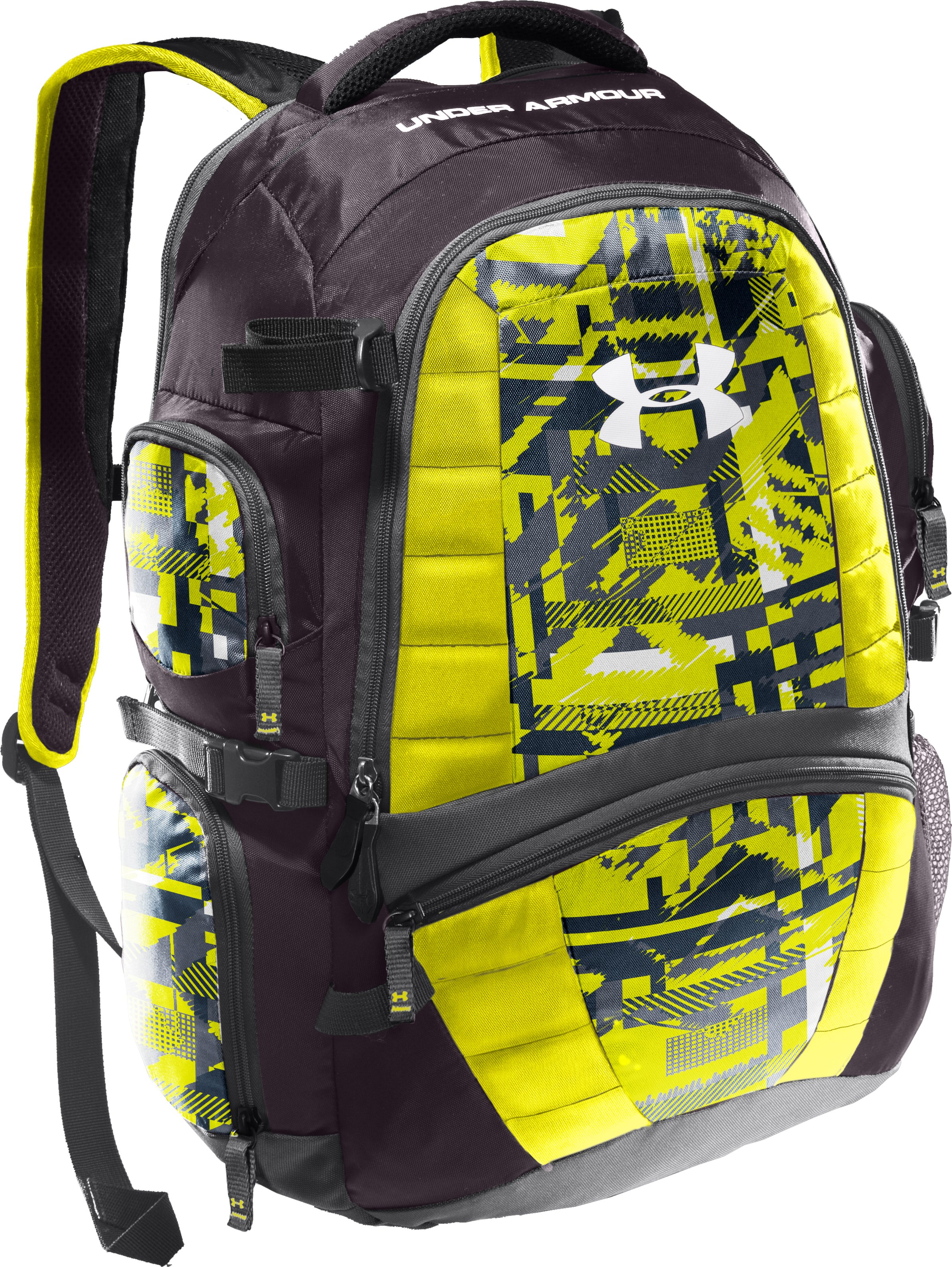 UA Lax Backpack, Charcoal, zoomed image