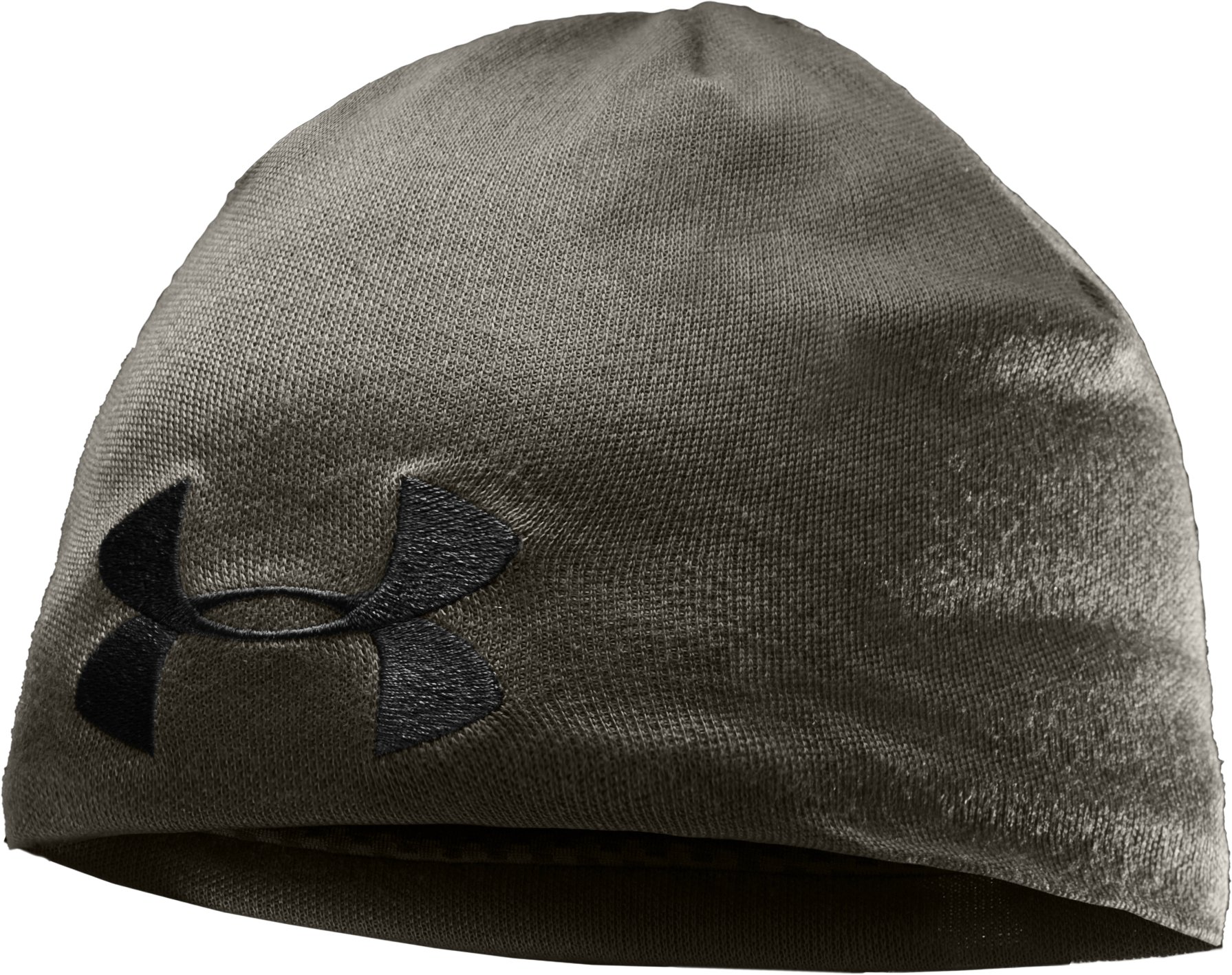 Men's Solid Active Beanie, Rifle Green