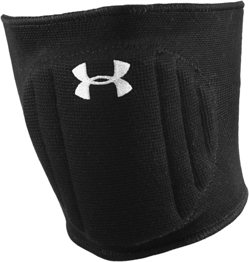 Armour® Volleyball Knee Pad, Black , zoomed image