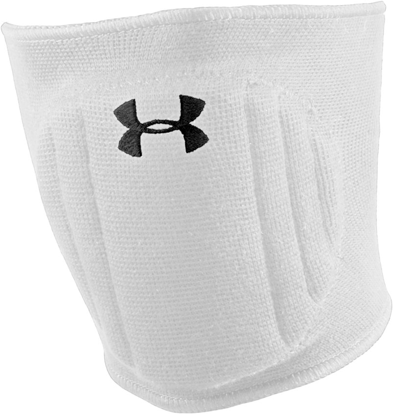 Armour® Volleyball Knee Pad, White, zoomed image