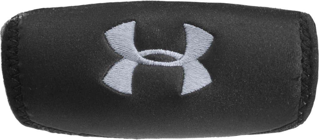 Men's UA Home & Away Chin Pads, Black ,