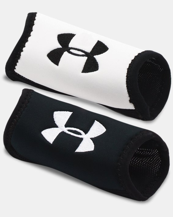 Men's UA Home & Away Chin Pads, Black, pdpMainDesktop image number 0