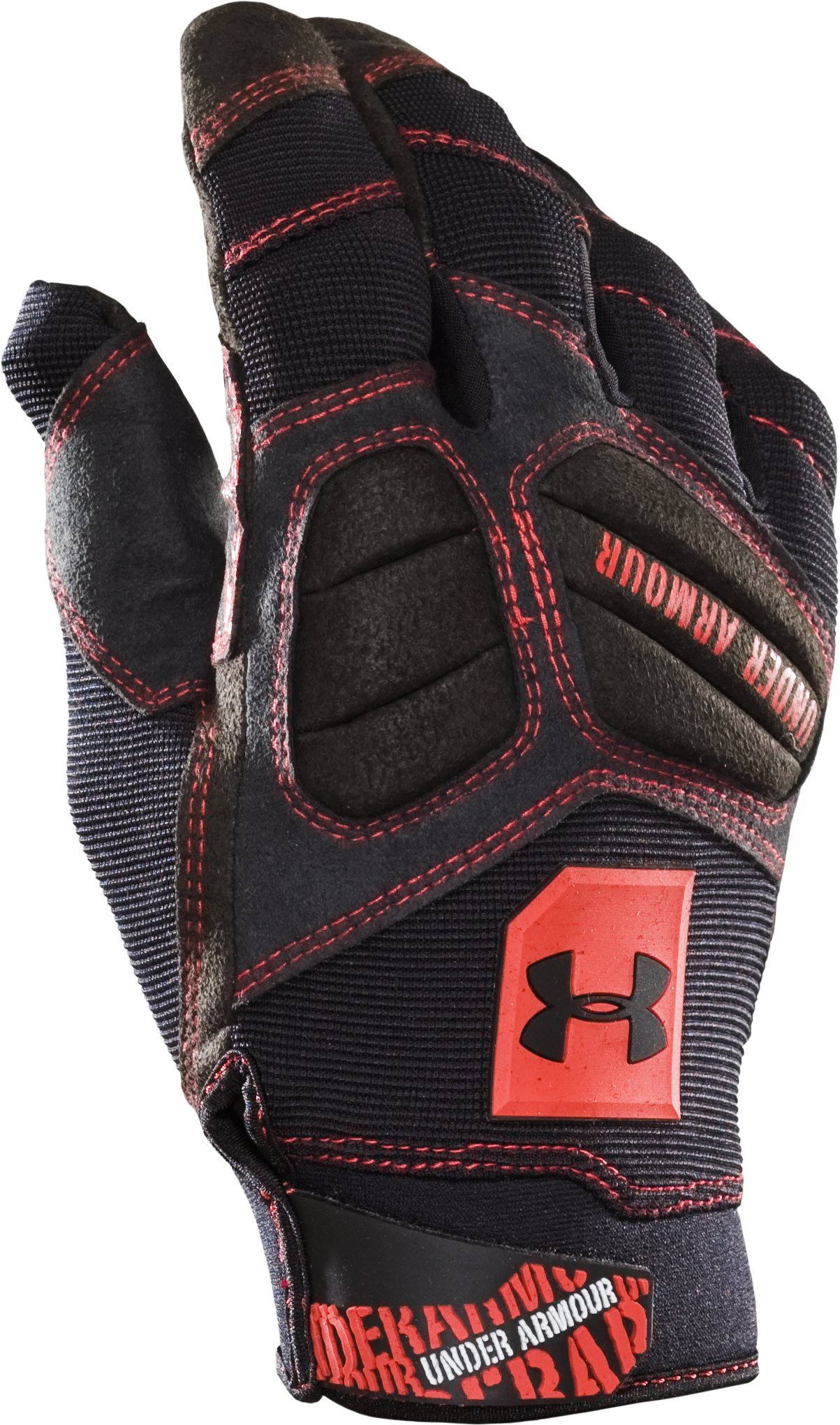 Men's High Impact Gloves, Black , zoomed image