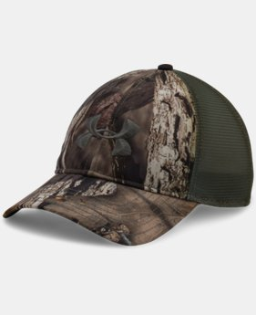 Men's UA Camo Mesh Back Cap  4 Colors $18.99
