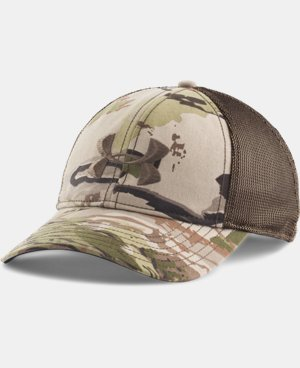 New Arrival  Men's UA Camo Mesh Back Cap  2 Colors $29.99