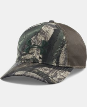 Men's UA Camo Mesh Back Cap  6 Colors $24.99