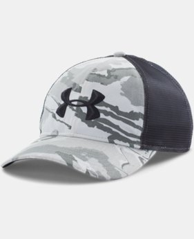 Men's UA Camo Mesh Back Cap