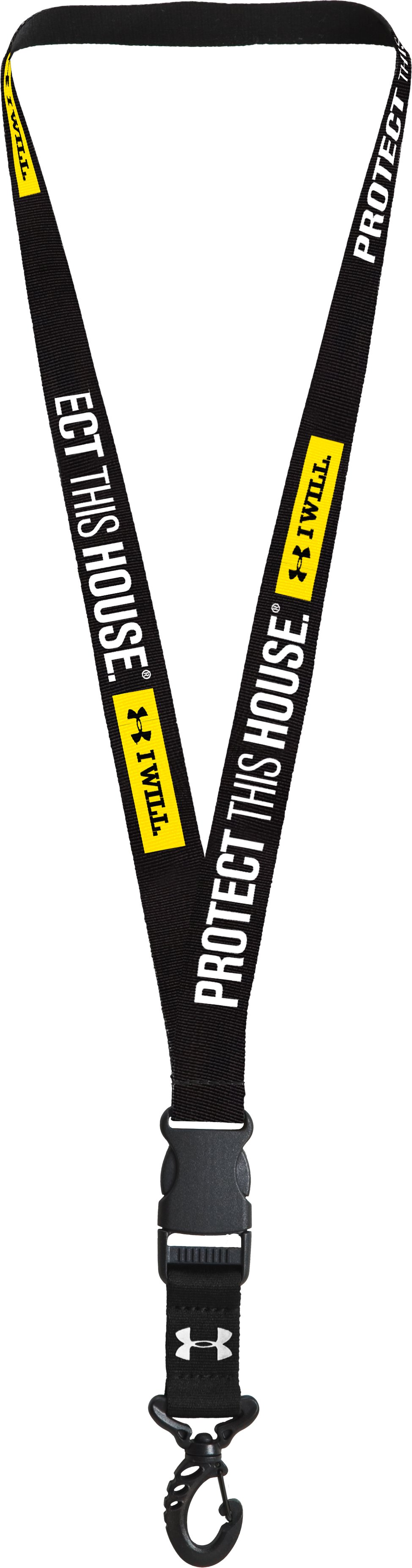 Armour® Lanyard, Black , zoomed image