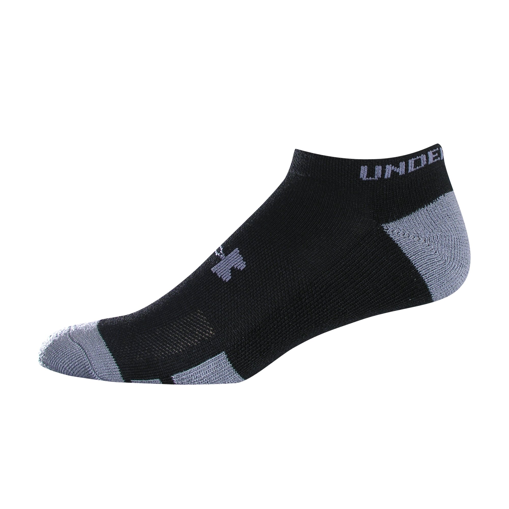 Men's Resistor No-Show Socks 6-Pack, Black