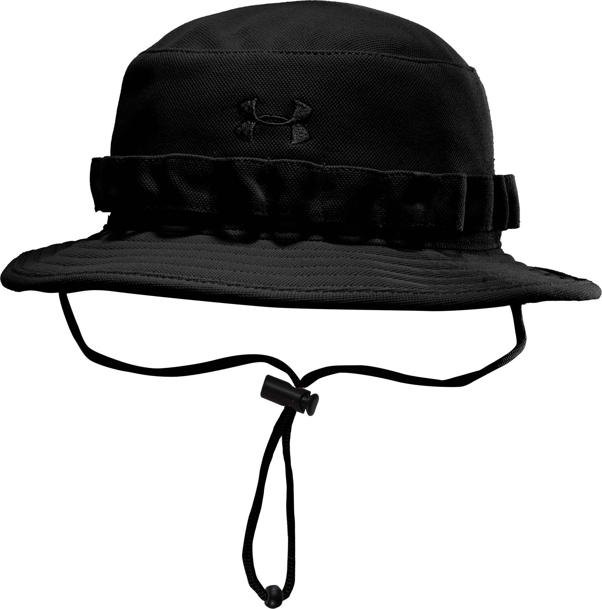 Men's UA Tactical Bucket Hat, Black , zoomed image