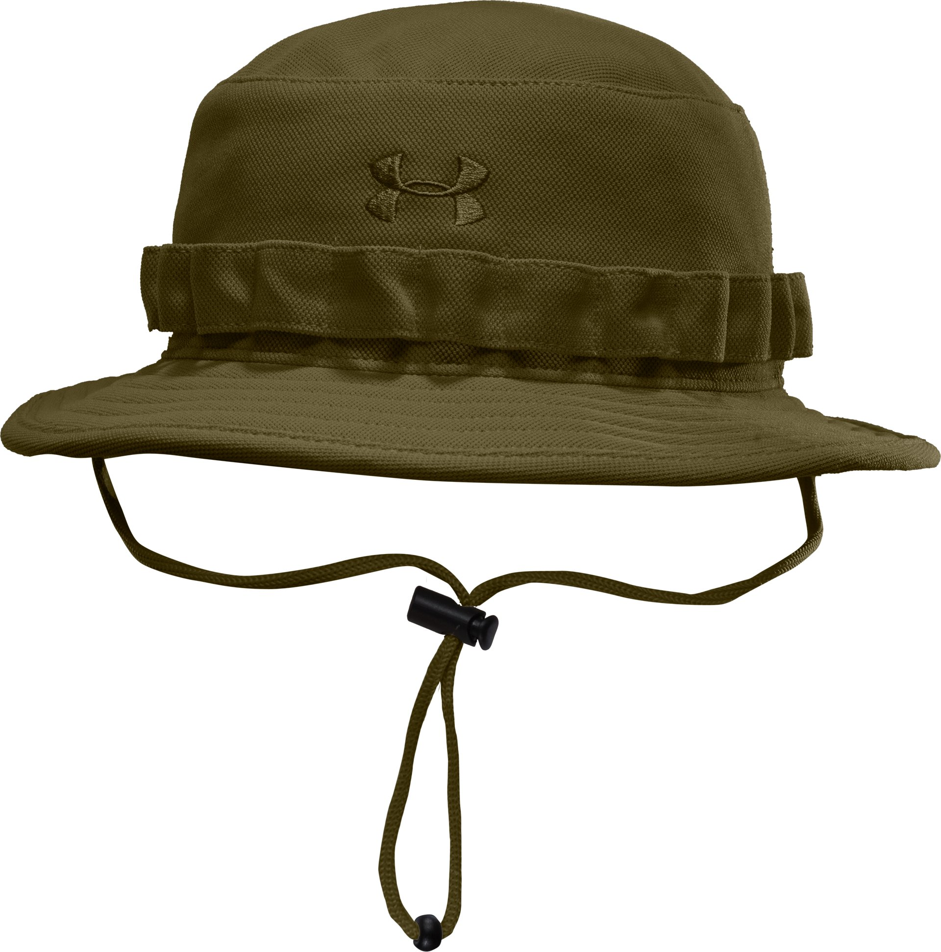 Men's UA Tactical Bucket Hat, Marine OD Green, zoomed image