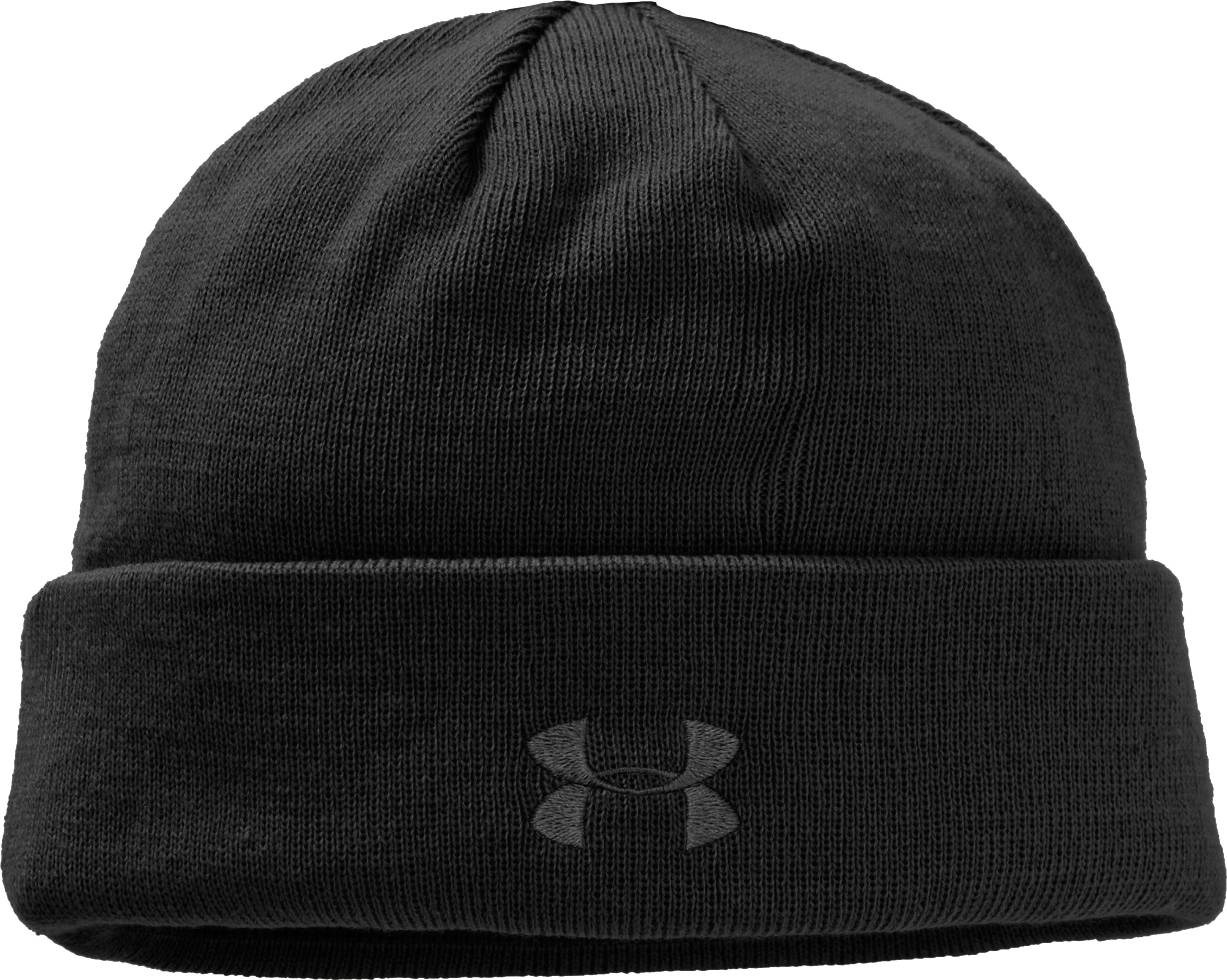 Men's Tactical Stealth Beanie, Black , zoomed image
