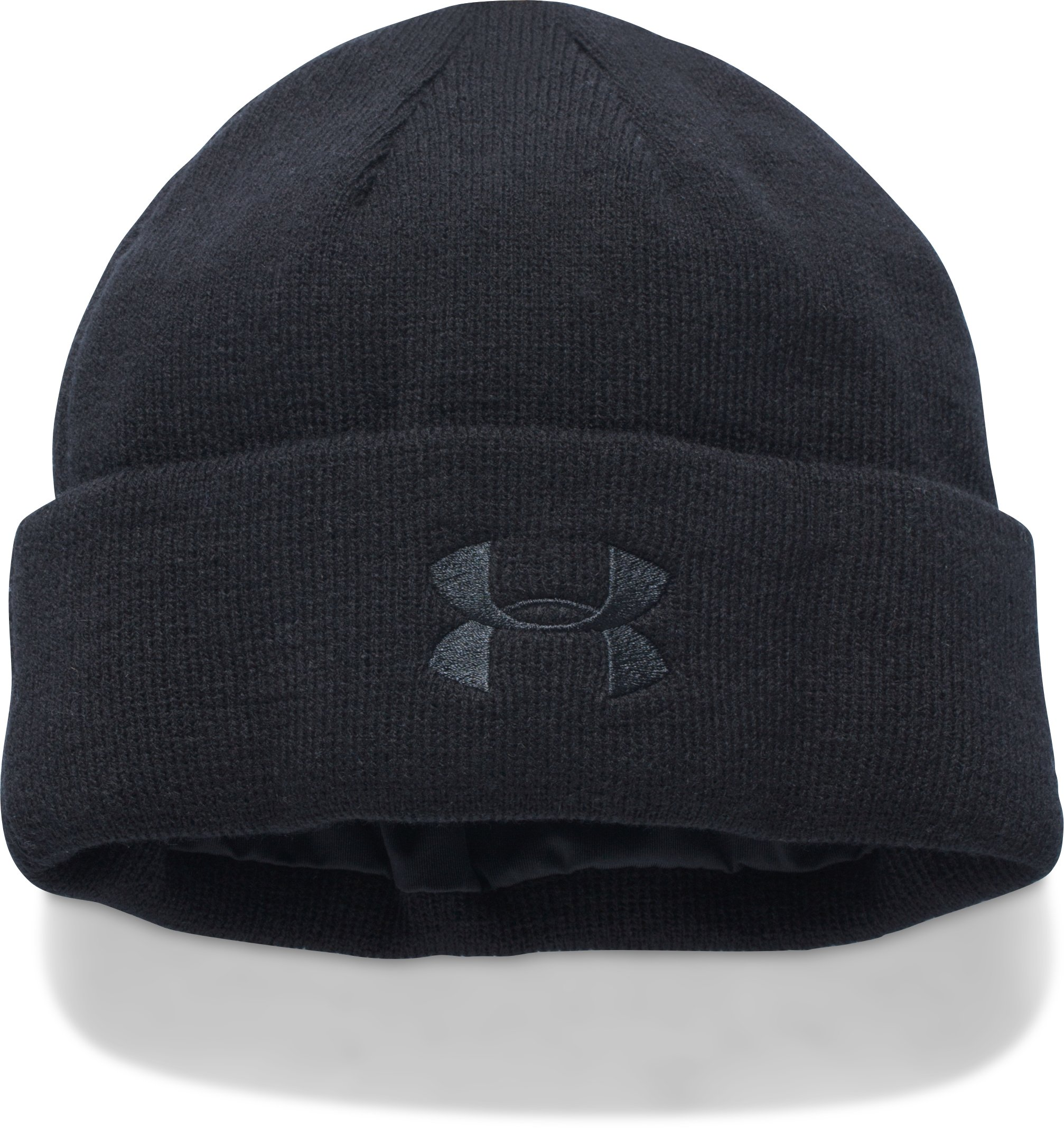 Men's Tactical Stealth Beanie, Black , undefined