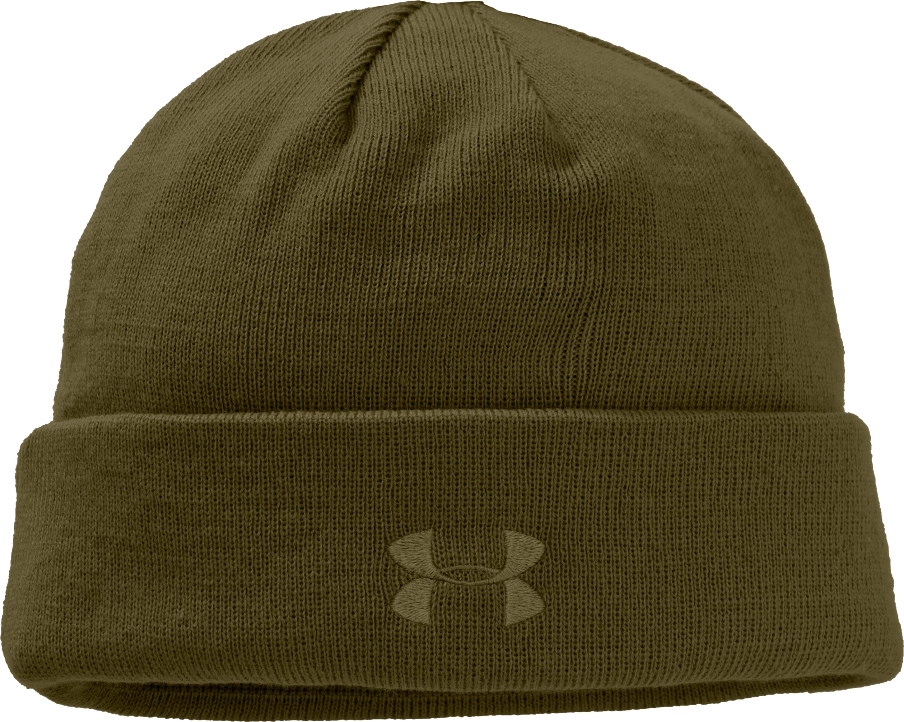 Men's Tactical Stealth Beanie, Marine OD Green, zoomed image