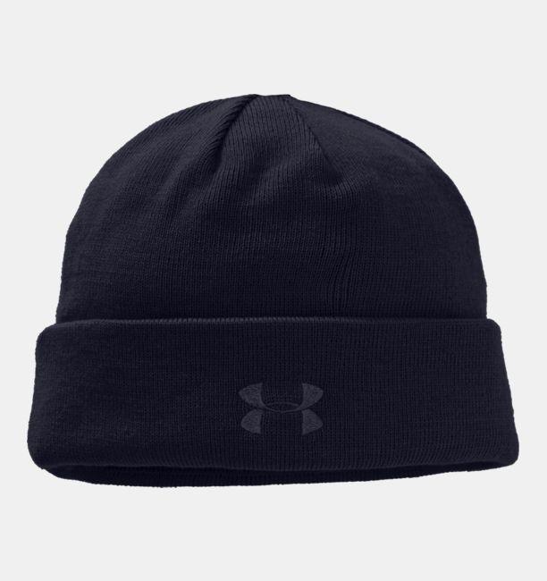 Men's / Women's Under Armour Tactical Stealth Knit Beanie Hat - Black