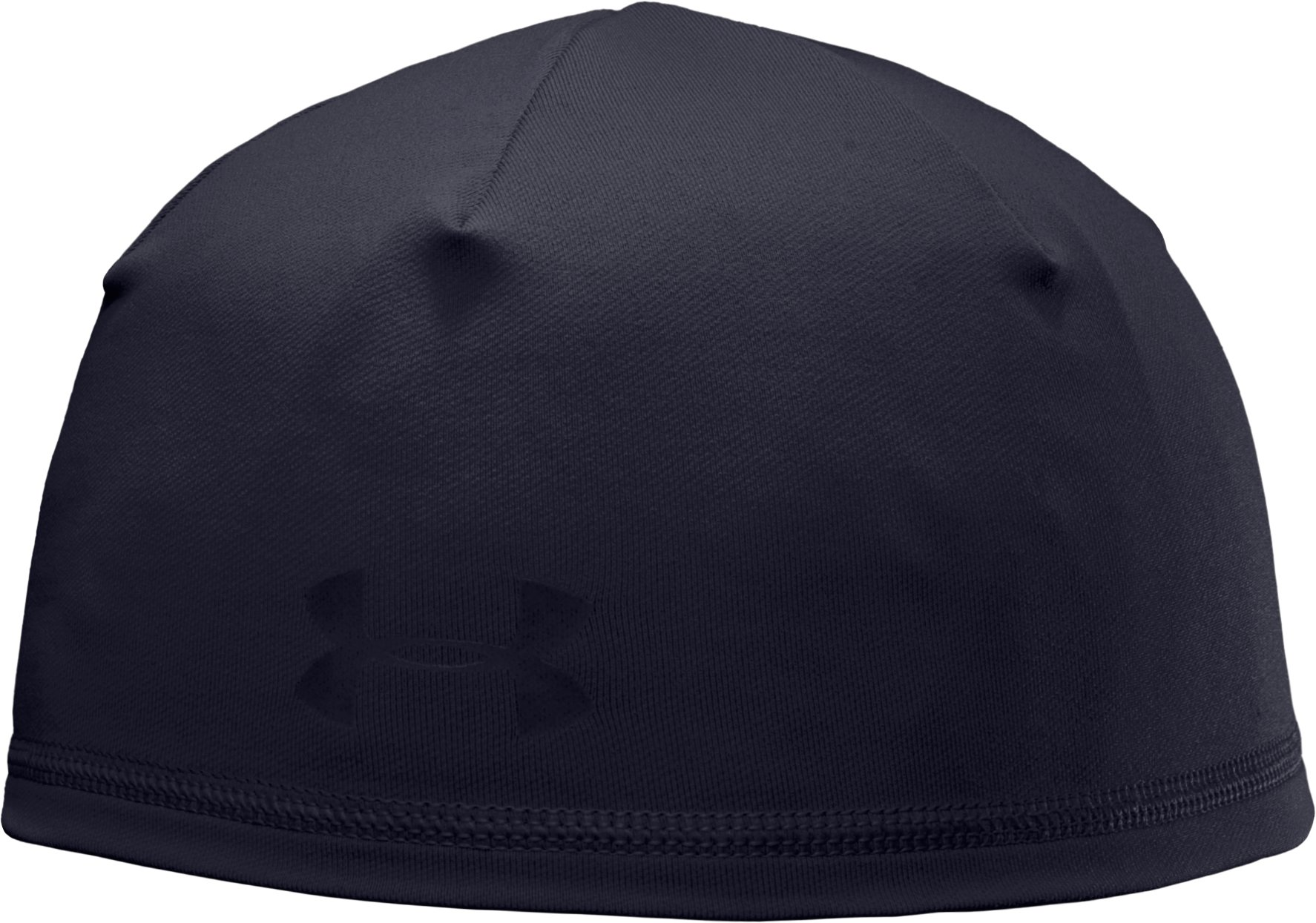 Men's ColdGear® Tactical Beanie, Dark Navy Blue , zoomed image