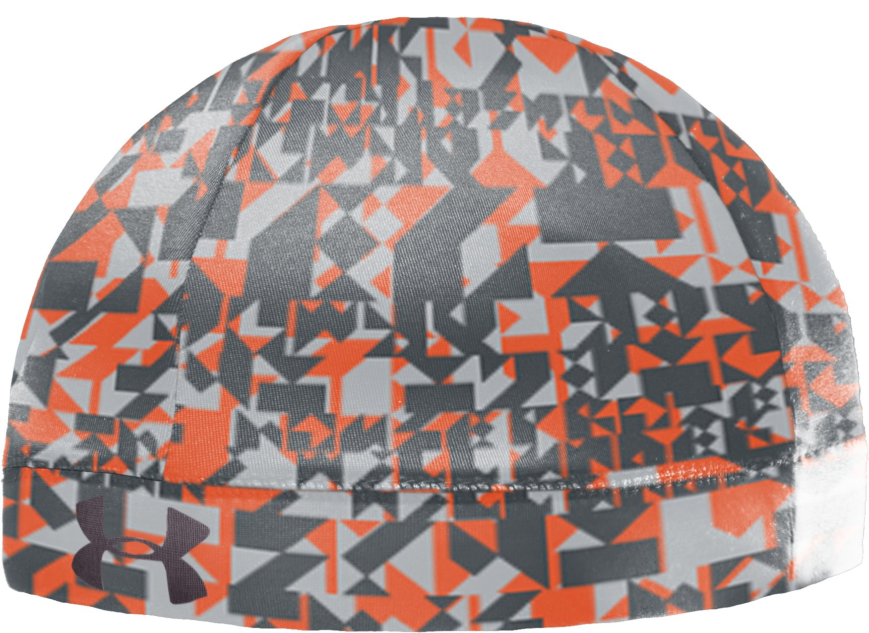 Men's UA Graphic Skull Cap, Charcoal