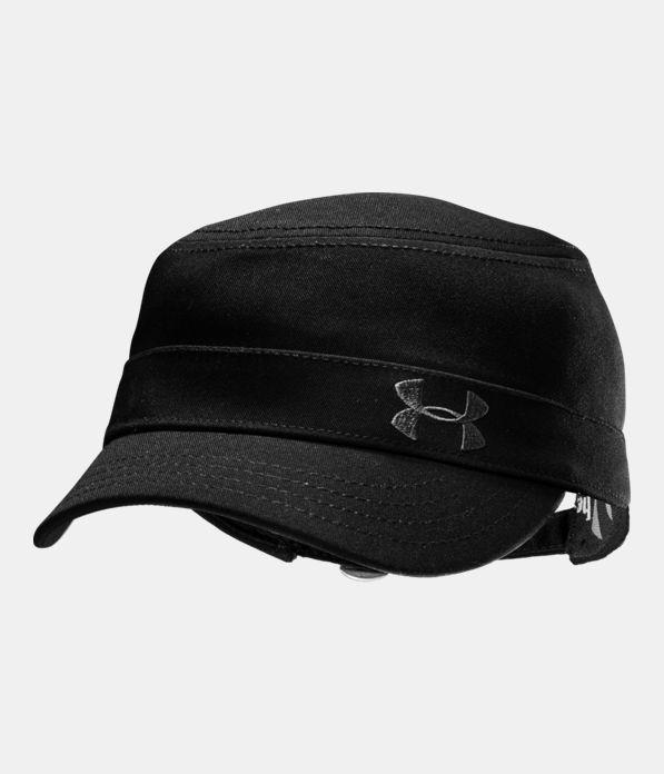 Women s Solid Versa Military Cap  41f0985b480d