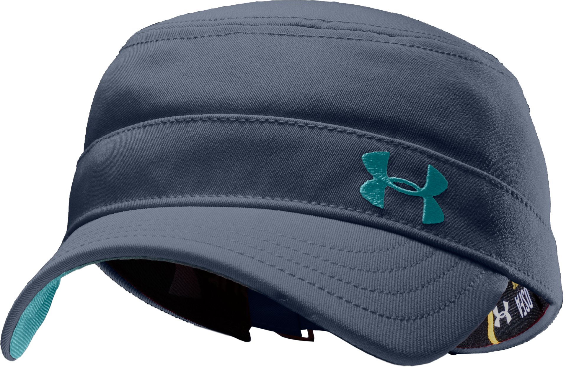 Women's Solid Versa Military Cap, Wire