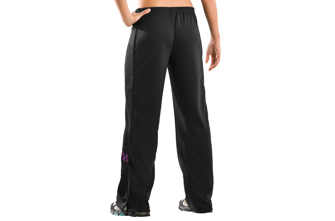 Women's UA Hero Warm-Up Pants, Black