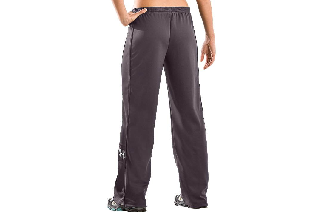 Women's UA Hero Warm-Up Pants, Charcoal